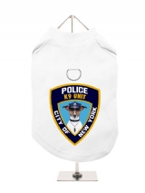 ''NYPD K9 Unit'' Harness-Lined Dog T-Shirt